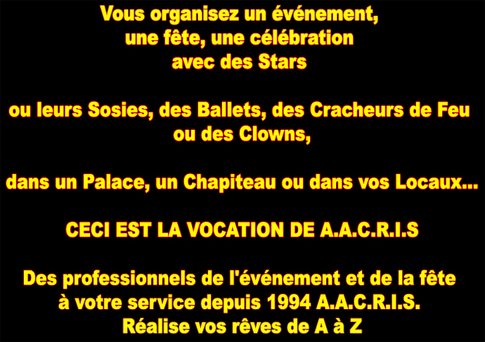 A.A.C.R.I.S.
